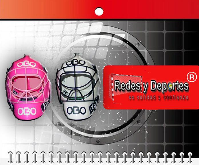 casco obo promite arquero hockey