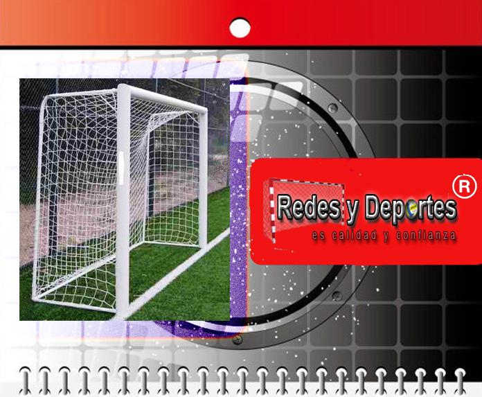 redes de baby futbol 5 X 2 standard colores hilo grueso precio el par